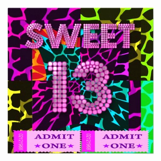 13th Birthday Invitation Ideas Beautiful 16 Best Images About 13th Birthday Party Invitation On