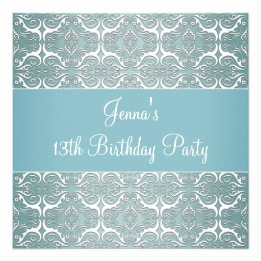 13th Birthday Invitation Ideas Inspirational 29 Best Images About 13th Birthday Party Invitations On