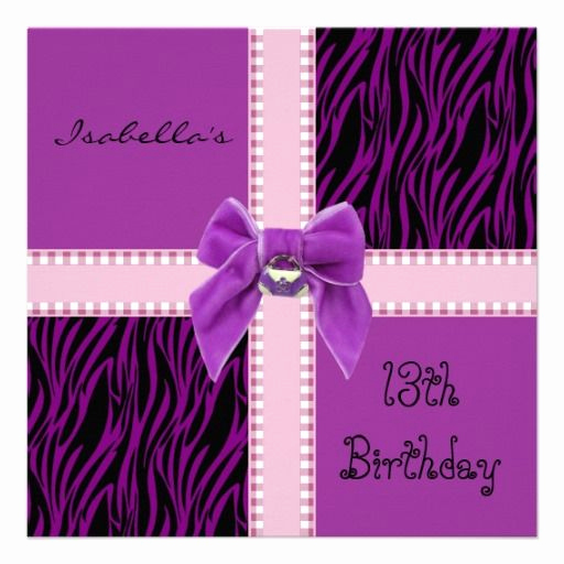 13th Birthday Invitation Ideas Lovely 17 Best Images About 13th Birthday On Pinterest