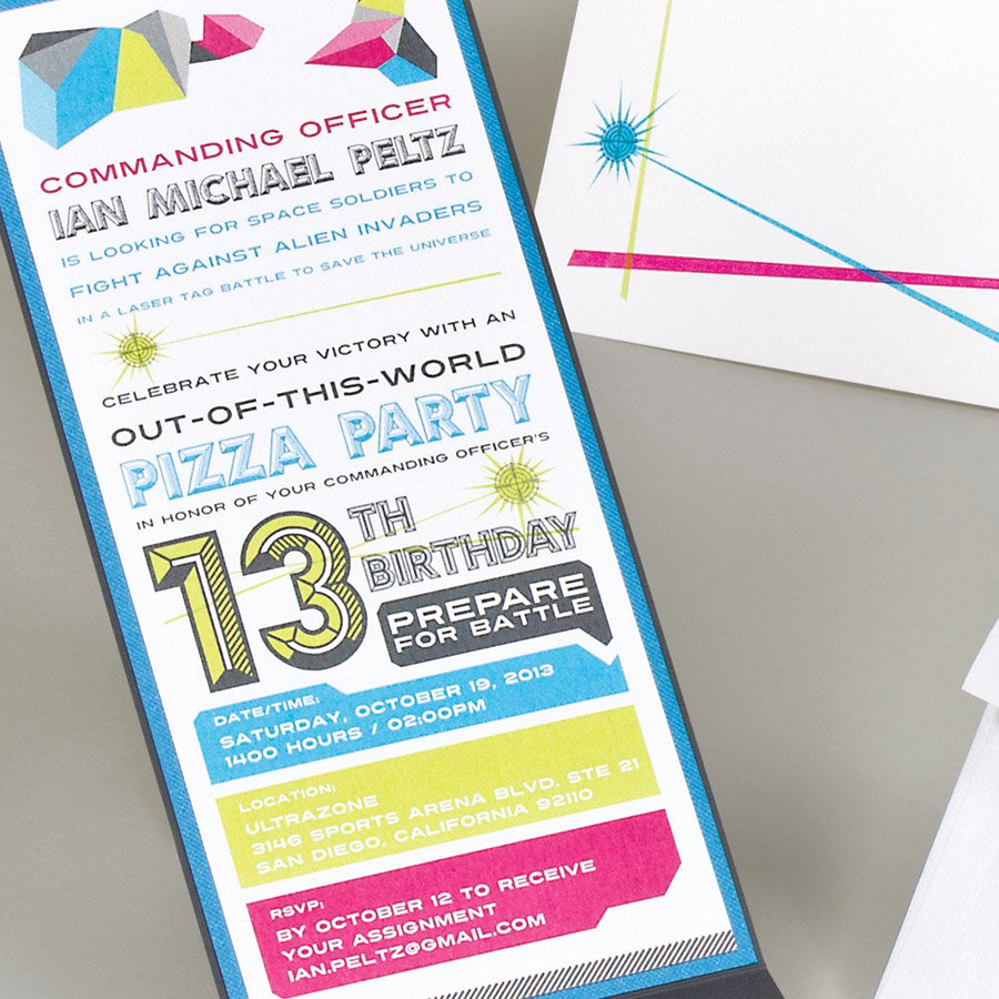 13th Birthday Invitation Ideas Lovely Printable 13th Birthday Invitations