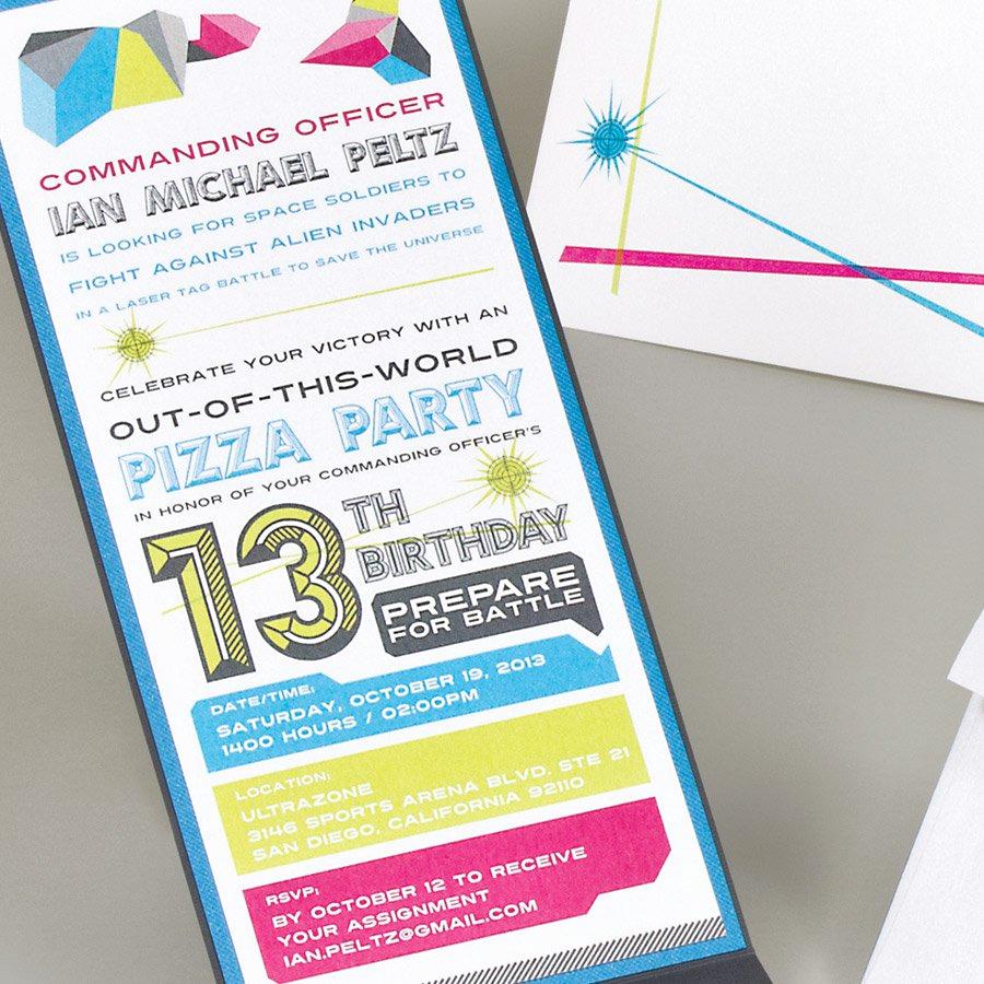 13th Birthday Invitation Ideas Lovely Printable 13th Birthday Invitations
