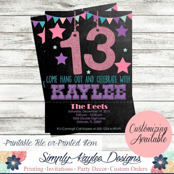 13th Birthday Invitation Ideas New 40 Best Neon Glow Birthday Party Ideas Images On Pinterest