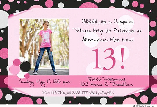 13th Birthday Invitation Wording Awesome Free Free Template 13th Birthday Party Invitation Wording