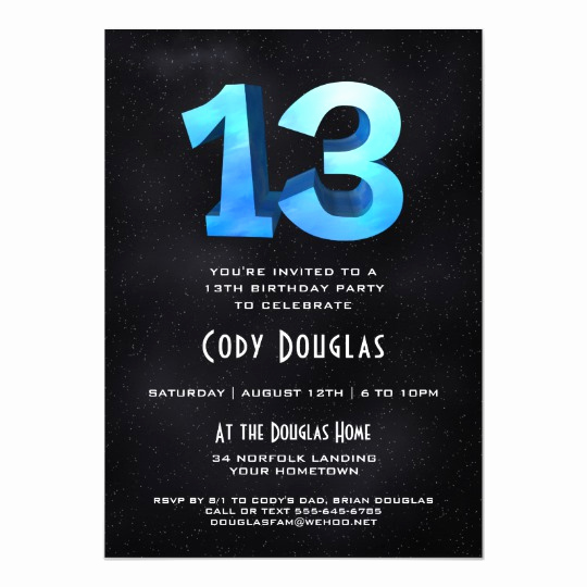 13th Birthday Invitation Wording New Elegant Birthday Invitations