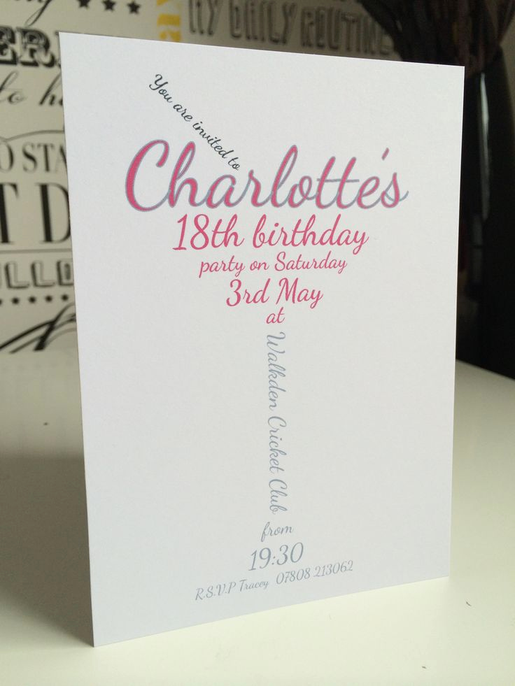 18th Birthday Invitation Ideas Elegant 1000 Images About 18th Invites On Pinterest