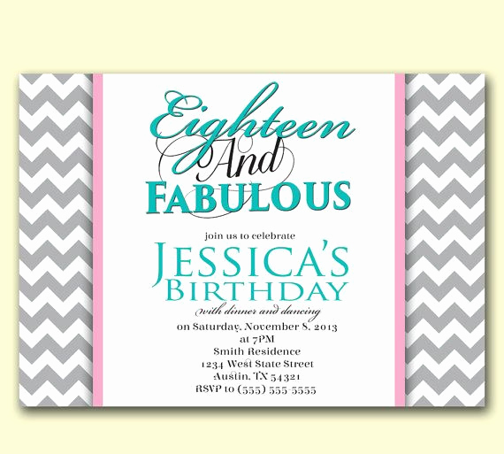18th Birthday Invitation Ideas Luxury 29 Best Cute Fun Ideas Images On Pinterest