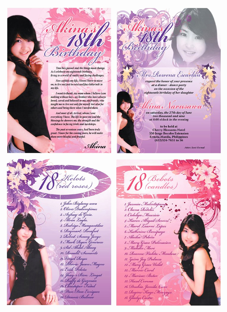 18th Birthday Invitation Ideas Luxury Invitation for 18th Birthday