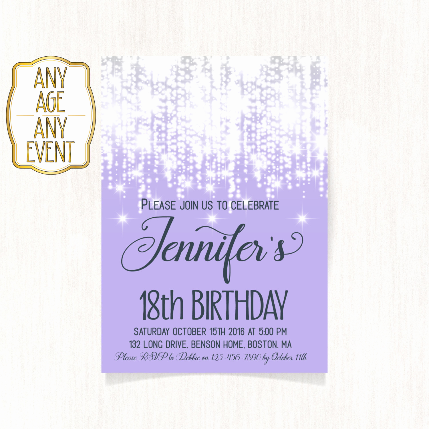 18th Birthday Invitation Wording New 18th Birthday Invitation Luxury Invitation Birthday Party