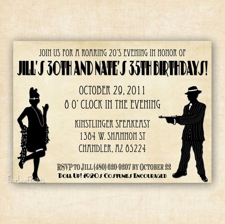1920s Party Invitation Template Free Beautiful 57 Best 1920 S Images On Pinterest