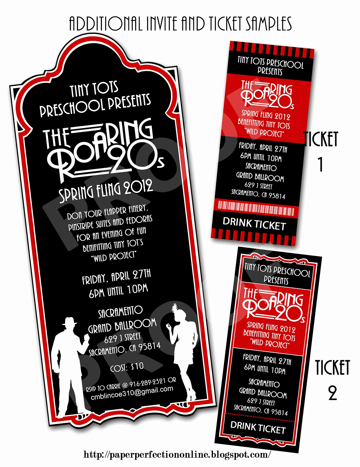 1920s Party Invitation Template Free Beautiful Paper Perfection Roaring Twenties 1920s Party