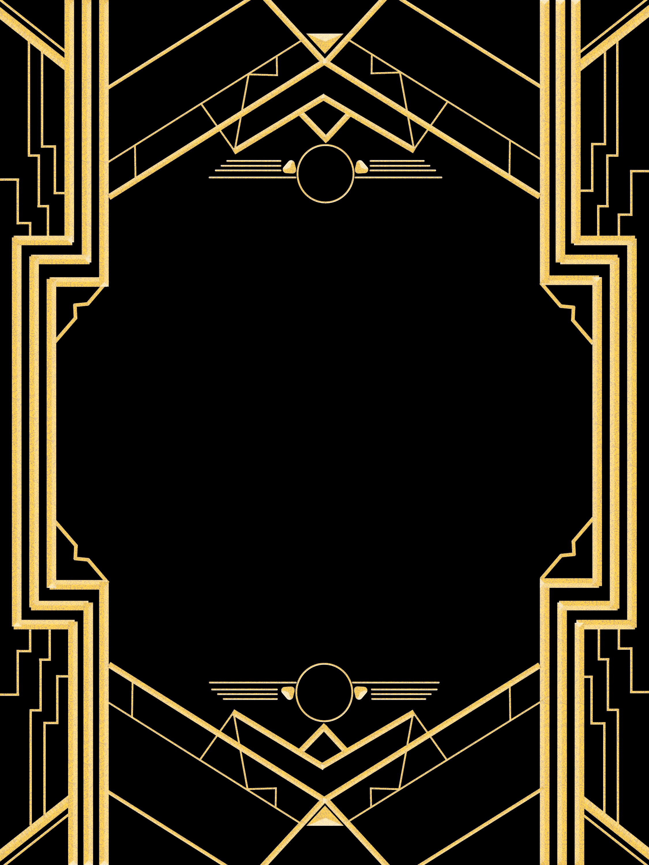 1920s Party Invitation Template Free Fresh Great Gatsby Invitation Templates Blank