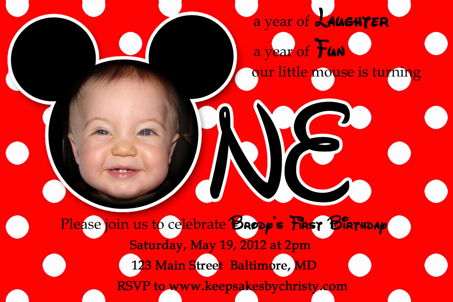 1st Birthday Invitation Ideas Luxury First Birthday Party Invitation Ideas – Bagvania Free