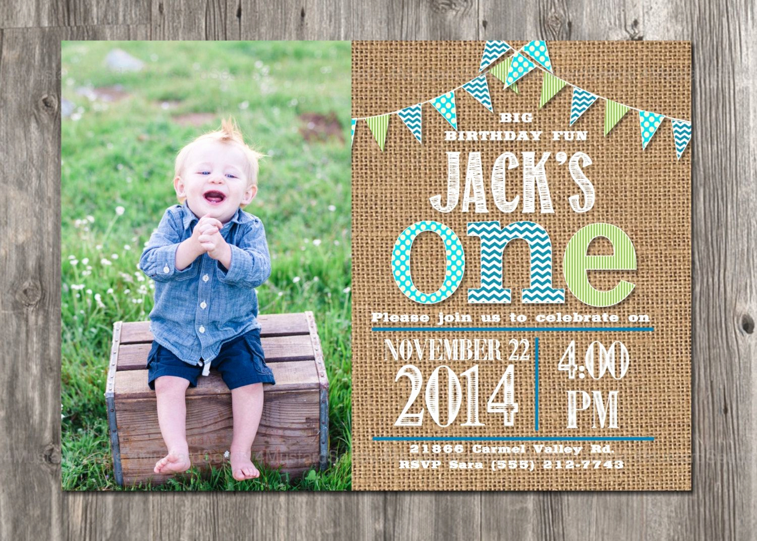 1st Birthday Invitation Ideas Luxury Pin by Angie Shuman On Hudson S First Birthday