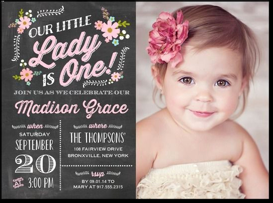 1st Birthday Invitation Ideas New Best 25 First Birthday Invitations Ideas On Pinterest