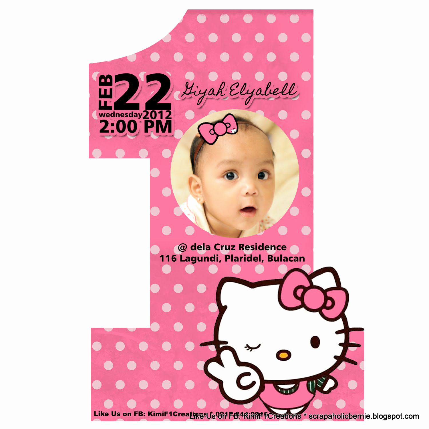 1st Birthday Invitation Message Luxury First Birthday and Baptism Invitations 1st Birthday and