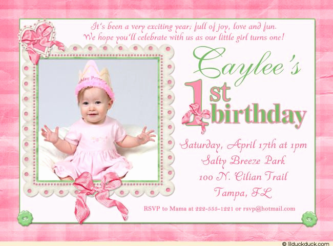 1st Birthday Invitation Template Unique Cool 1st Birthday Invitation Wording