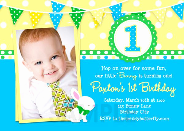 1st Birthday Invitation Wording Best Of Printable Birthday Invitations Girls Easter Spring First