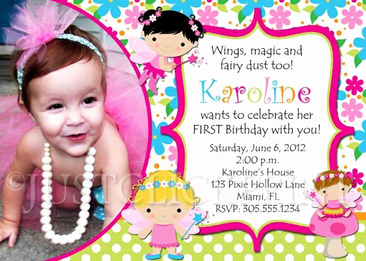1st Birthday Invitation Wording Samples Unique 24 Best Birthday Invitation Card Sample Images On