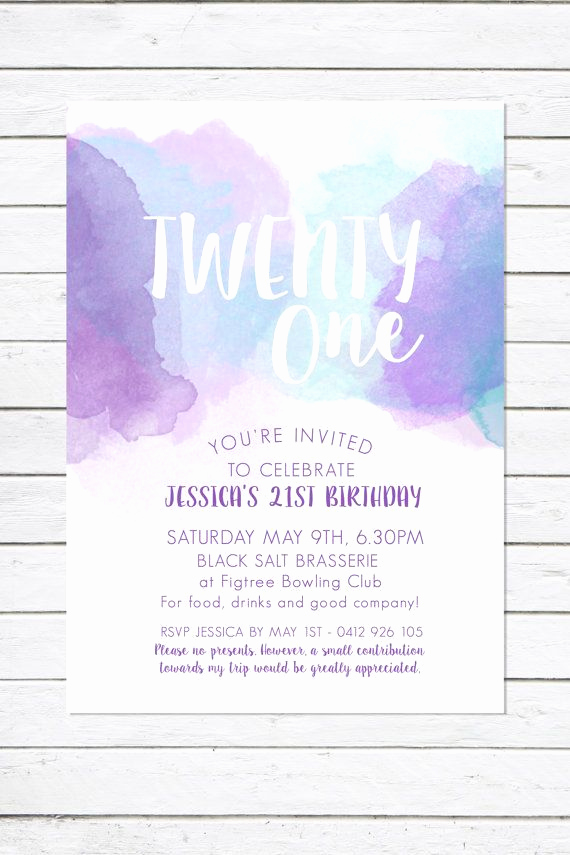21st Birthday Invitation Ideas Fresh 25 Best Ideas About 21st Birthday Invitations On