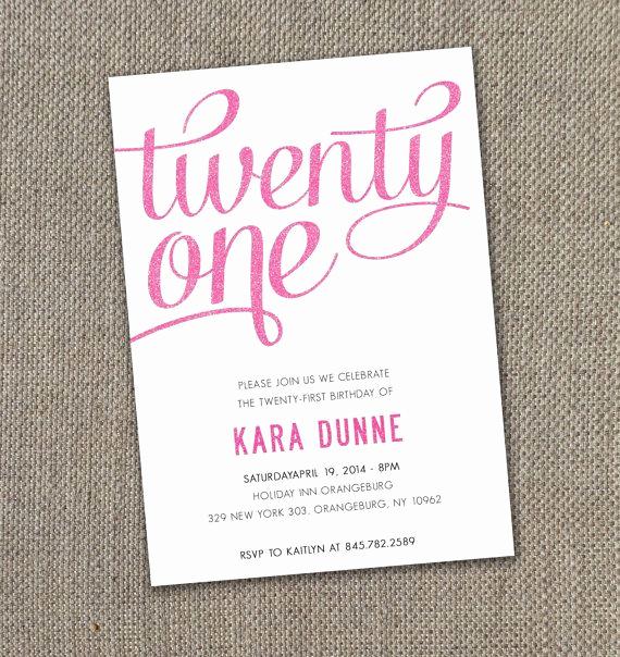 21st Birthday Invitation Ideas Fresh Best 25 21st Invitations Ideas On Pinterest