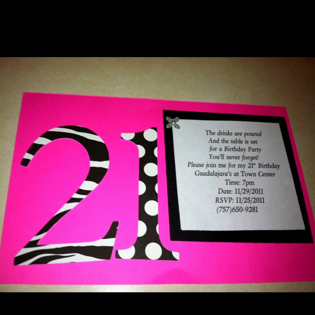 21st Birthday Invitation Ideas Fresh You are Cordially Invited to attend the 21st Celebration