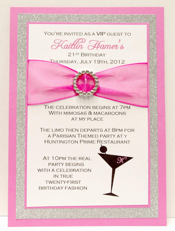 21st Birthday Invitation Ideas Lovely 21st Birthday Invitation Card