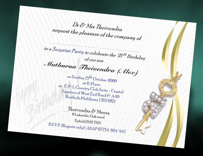 21st Birthday Invitation Ideas New Brungki Ideas for 21st Invitations