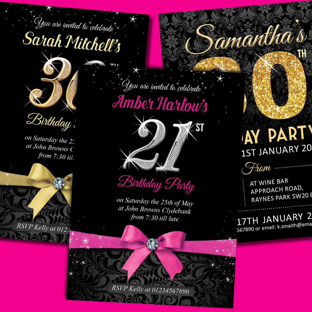 21st Birthday Invitation Templates Lovely 21st Birthday Invitation Template