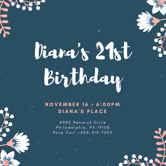 21st Birthday Invitation Templates Lovely Customize 556 21st Birthday Invitation Templates Online