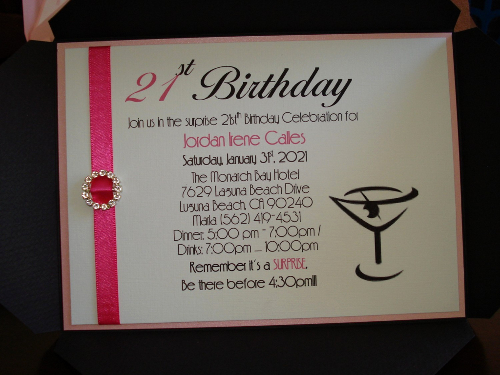 21st Birthday Invitation Templates Luxury 21st Birthday Invitations Wording