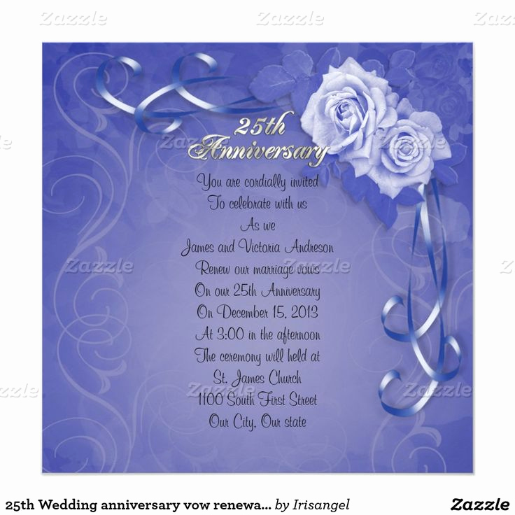 25th Anniversary Invitation Cards Awesome 1000 Images About 25th Anniversary Invitations Customized