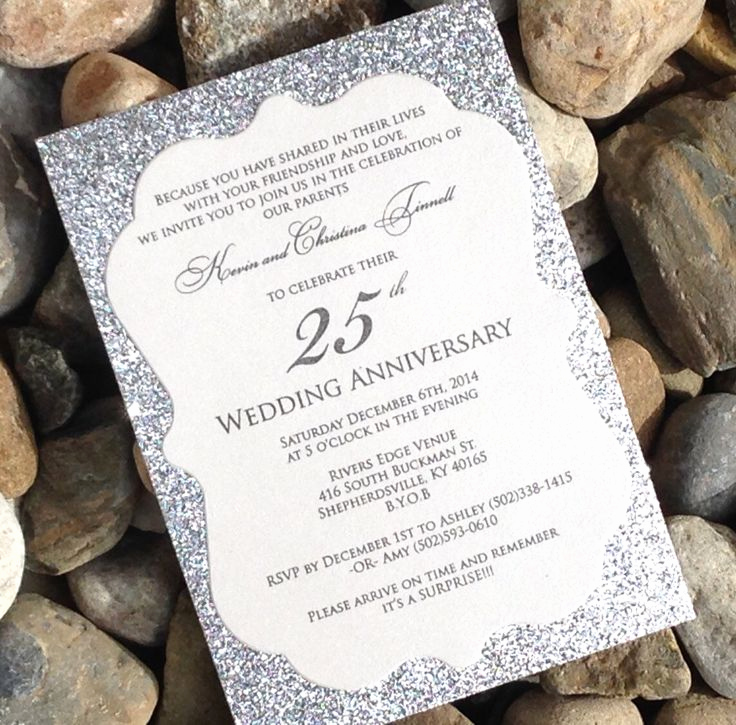 25th Anniversary Invitation Wording Best Of 25 Best Anniversary Invitations Ideas On Pinterest