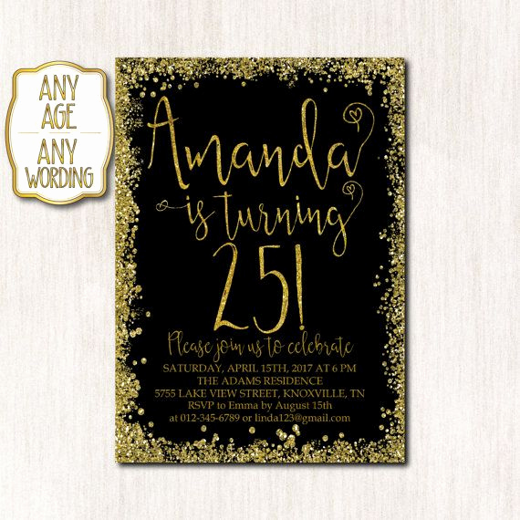 25th Birthday Invitation Wording Fresh 1000 Ideas About 25th Birthday On Pinterest