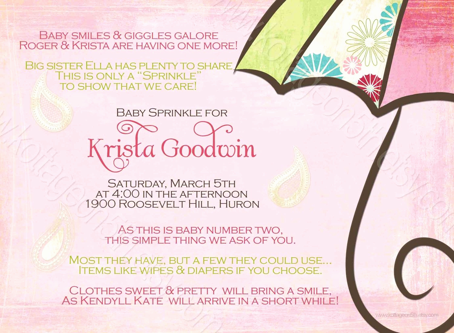 2nd Baby Shower Invitation Wording Awesome Baby Shower for Second Baby