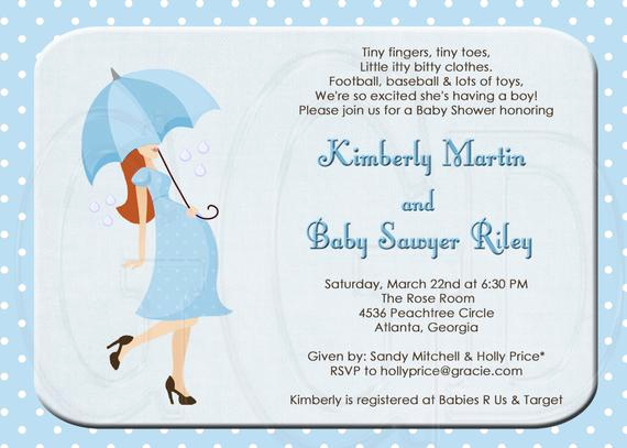 2nd Baby Shower Invitation Wording Awesome Silhouette Baby Shower or Sprinkle for 2nd or 3rd Child