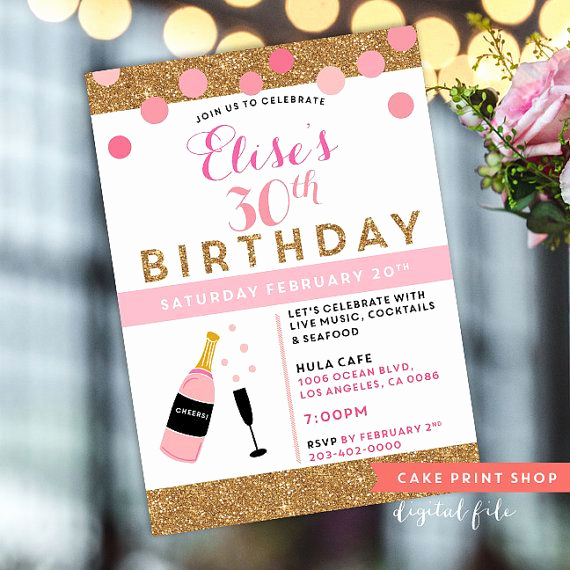30th Birthday Invitation Ideas Beautiful 1000 Ideas About 30th Birthday Invitations On Pinterest