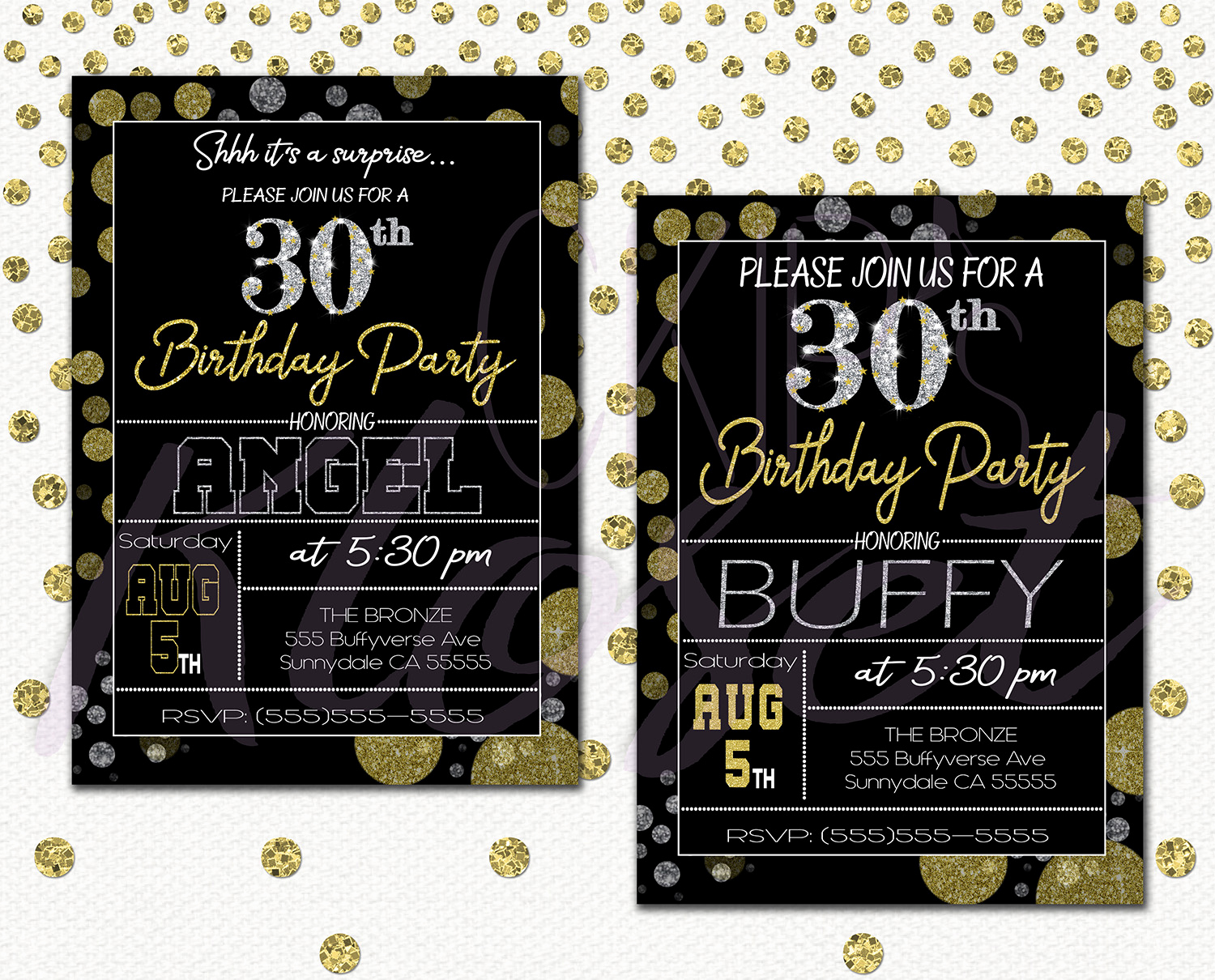 30th Birthday Invitation Ideas Lovely Surprise 30th Birthday Invitations for Him or Her – Mens