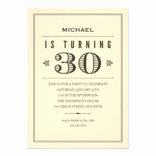 30th Birthday Invitation Ideas New 25 Best Ideas About 30th Birthday Invitations On