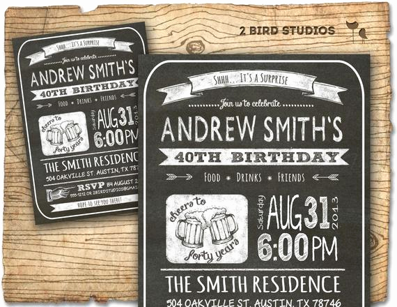 30th Birthday Invitation Ideas New 30th Birthday Invitation Male Birthday Party Invitations