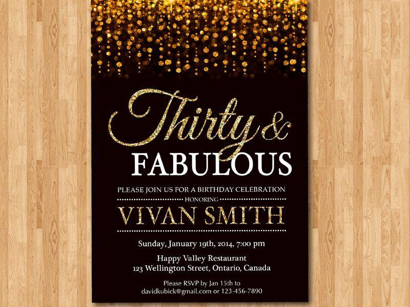 30th Birthday Invitation Sayings Fresh 30th Birthday Invitation for Women Thirty and by Arthomer