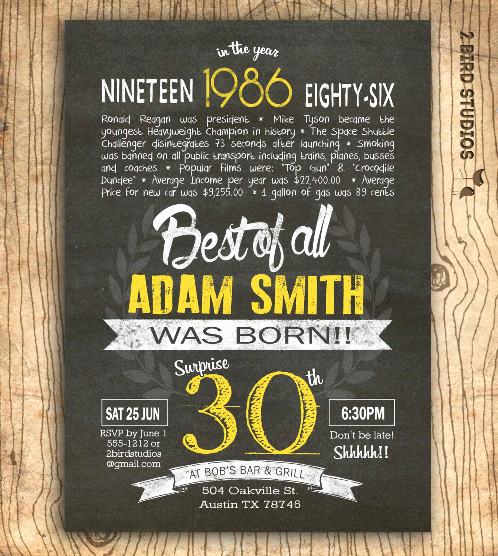 30th Birthday Invitation Sayings New 30th Birthday Invitation Surprise 30th Birthday by