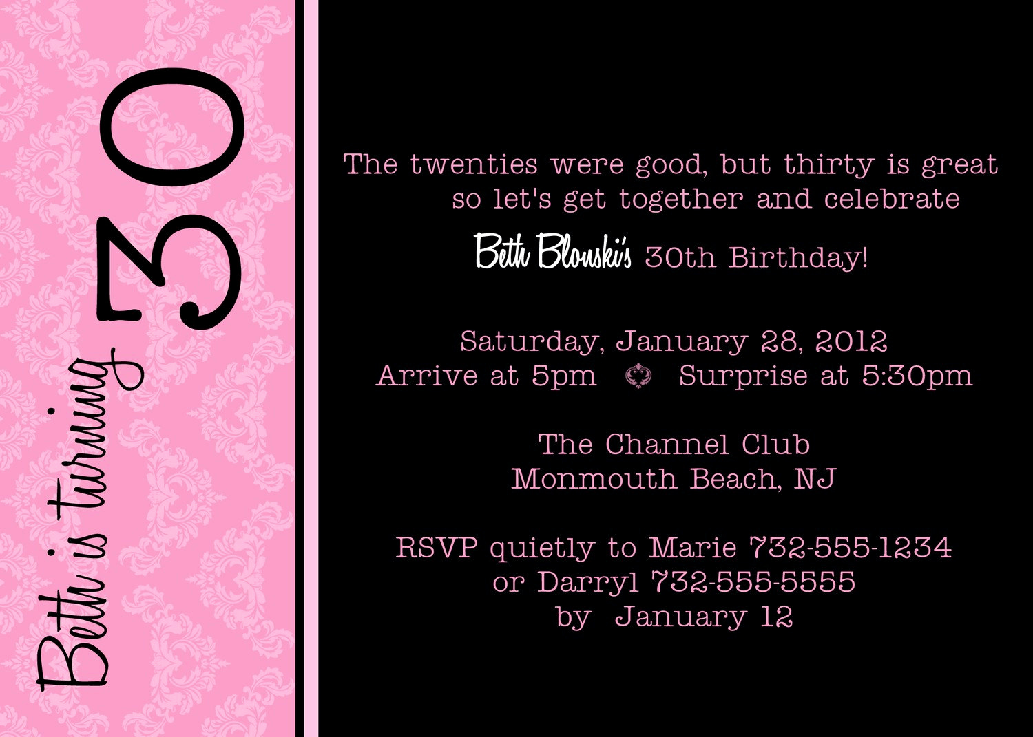 30th Birthday Invitation Templates Beautiful Funny 30th Birthday Quotes for Men Quotesgram