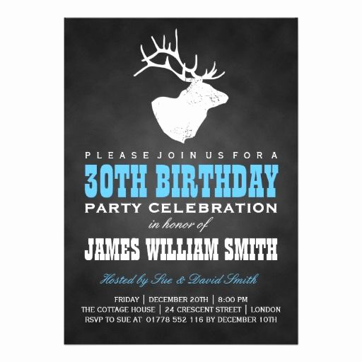 30th Birthday Invitation Templates Fresh 17 Best Images About Birthday Party Invitations On