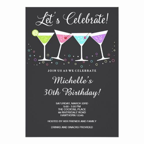 30th Birthday Invitation Templates Luxury Best 25 Birthday Invitations Adult Ideas On Pinterest