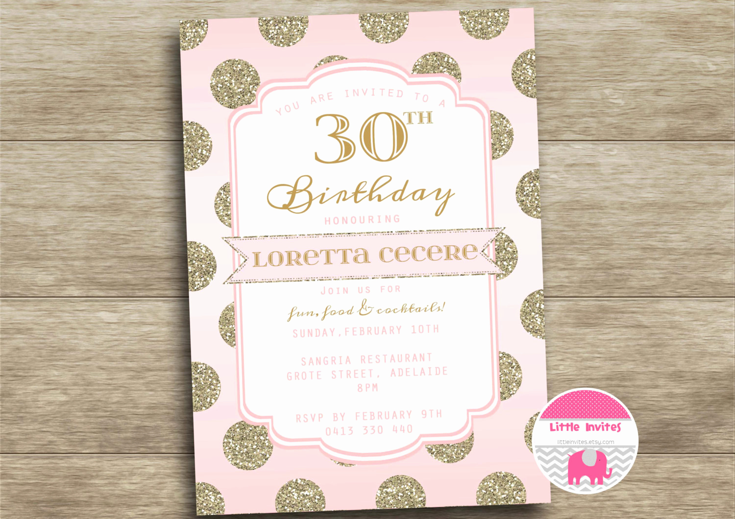 30th Birthday Invitation Wording Inspirational 30th Birthday Invitation Women