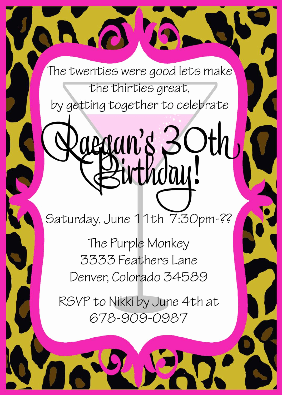 30th Birthday Invitation Wording Lovely Birthday Party Free Birthday Invitation Templates for