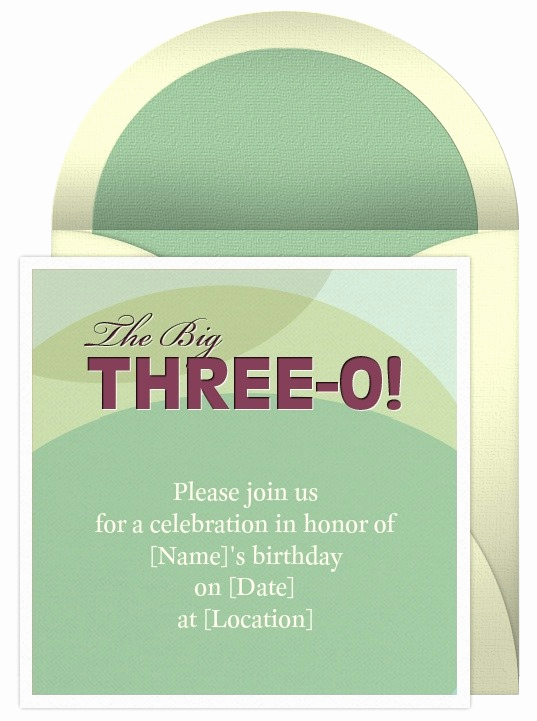 30th Birthday Party Invitation Wording Elegant 30th Birthday Invitation