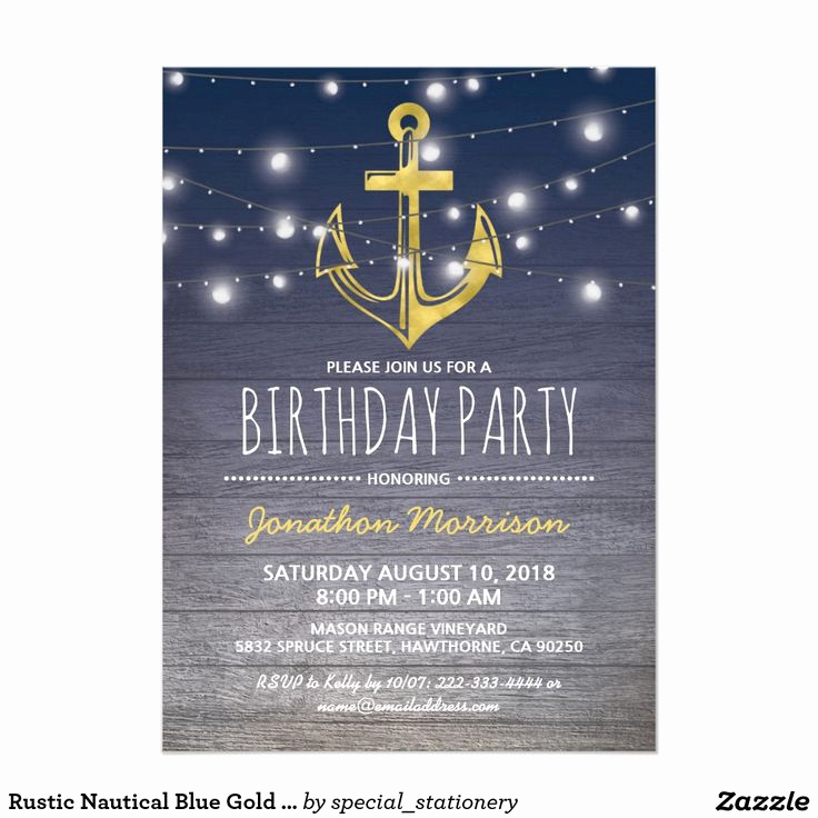 35th Birthday Invitation Wording New Best 25 Nautical Birthday Invitations Ideas On Pinterest