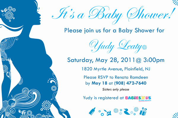 3rd Baby Shower Invitation Wording Elegant Baby Shower Invitations for Boy & Girls Baby Shower