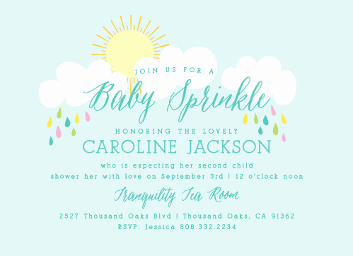 3rd Baby Shower Invitation Wording Unique Baby Shower Invitations